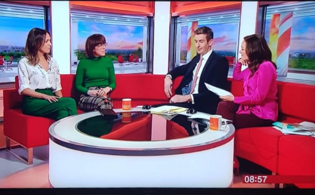 all up in my space bbc breakfast other's day