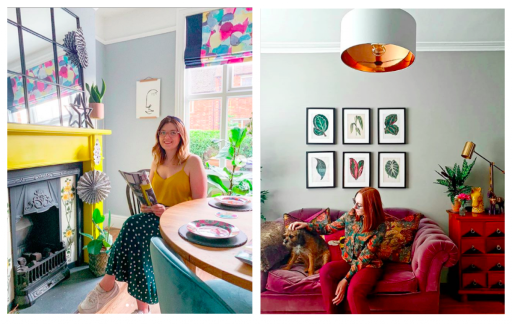 @miafelceathome and @_bethathome show off their #dresslikeyourhome